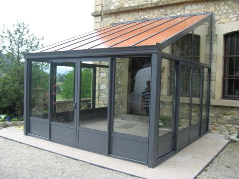 cr ation de v randa en savoie 73. Black Bedroom Furniture Sets. Home Design Ideas